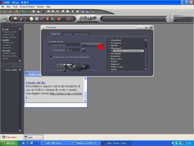 Imagen del IRCap