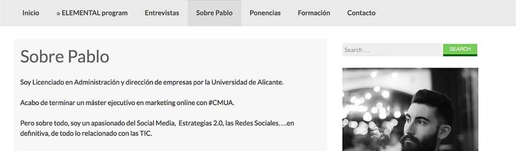 Blog de Pablo Aracil (@PAF17), compañero #cmua
