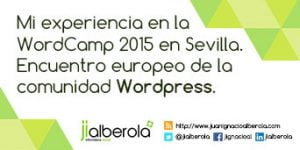 resumen wordcamp europe 2015 sevilla