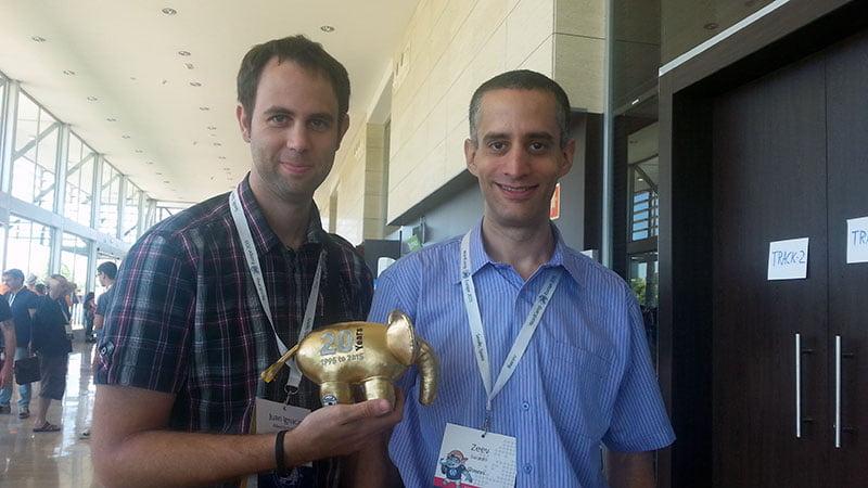 Zeev Zuraski WordCamp Europe 2015 Seville