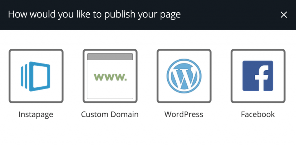 publicar-instapage
